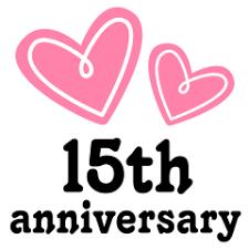 15 wedding anniversary 15th anniversary tree