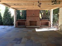 Outdoor Brick Fireplace Grill by Outdoor Stone Fireplace Charlotte Nc Masters Stone Group