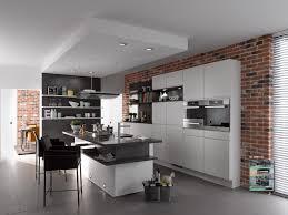 klimexmilano loft red brick veneer in a modern kitchen application