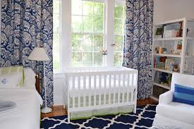 Modern Nursery Curtains Rugs For Baby Room Boy Roselawnlutheran