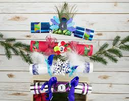 4 christmas cracker craft ideas little crafty bugs blog