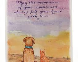dog condolences dog sympathy card paper pieced from cardstock loss of pet