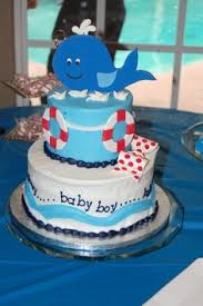 nautical baby shower cake for owen baby shower pinterest