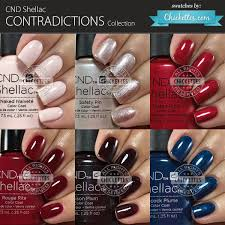 cnd shellac contradictions collection fall 2015 swatches by