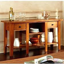 Oak Sofa Table With Drawers Mission Style Sofa Table Cherry Oak Console Exceptional Black