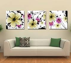 creative of modern paintings for living room with christmas gift