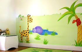 chambre garcon jungle chambre garcon jungle fresques murales enfants decors chambre bebe