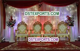 Wedding Stage Chairs Indian Wedding Furniture Manufacturer Indian Handicrafts Exporters