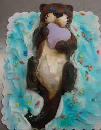 otter cake topper otter cupcake by radicalcat on deviantart