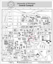 Google Maps Michigan by Michigan Campus Map Michigan Map