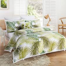 Tropical Duvet Covers Queen Palm Tree Quilt Cover Set Target 89 Future Bedroom