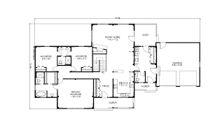open house plan ranch style open floor plans level 3 to 4 bedroom ranch style home