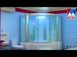 bathroom tech veedu hi tech bathroom manorama news youtube