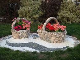 Garden Pictures Ideas Garden Design Ideas With Pebbles
