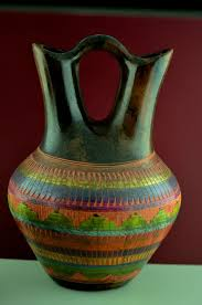 Navajo Wedding Vase Native American Wedding Vase Pottery Keywords