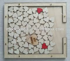 Rustic Wedding Guest Book Rustic Wedding Guest Book Drop With Heart Inserted Buy Guest