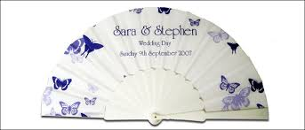 personalized wedding fans personalized cloth folding fans by sand scripts