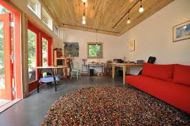 shed interior how to customize a shed as a home office or rec space realtor com