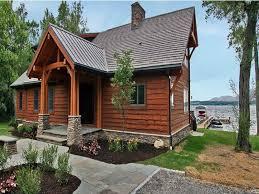small lakefront house plans walkout basement tromol info house