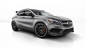 mercedes hatch amg gla45 amg s aero pack is mercedes at its worst