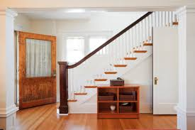 wooden handrail for modern stairs stair railing designs