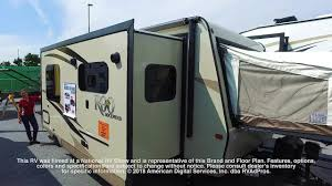 rockwood trailers floor plans forest river rockwood roo 23fl youtube
