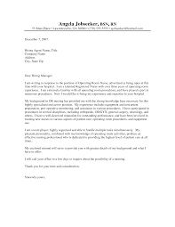 sample student nurse cover letters cover letter templates
