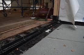 Door Waterproofing  BOTTOMSUPPORTEDSLIDERDOORSILLDETAIL - Bathroom door threshold 2