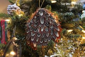 diy ornaments thewhitebuffalostylingco