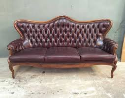 canapé chesterfield ancien ancien canapé chesterfield en cuir