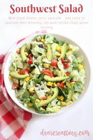 southwest chopped salad recipe easy delicious fresh and healthy