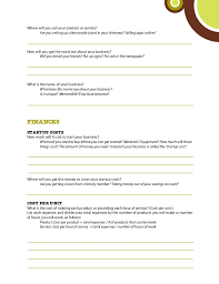 service plan template basic business plan template free simple