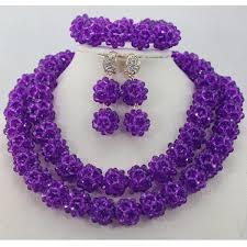 Wedding Gift Necklace Aliexpress Com Buy Nigerian Wedding African Beads Jewelry Set