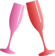 champagne transparent champagne toasting cheers glass png image pictures picpng