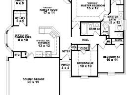 4 bedroom 1 story house plans 4 bedroom house plans single story house plans