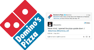 domino s oblivious twitter user blames dominos pizza for his own mistake