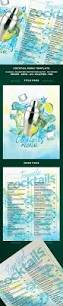 30 best menus images on pinterest print templates cocktail menu