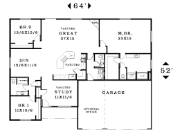 3 bedroom house plans one 3 bedroom house plans single home plans ideas