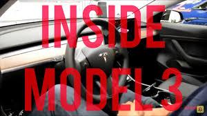 inside tesla model 3 german deutsch herzensfolger com youtube