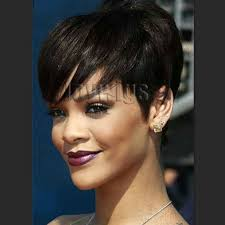 non hairstyles 2016 new short hairstyles with bangs for black women glueless non