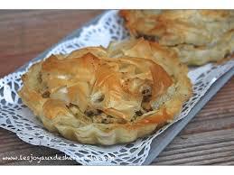 recette cuisine originale idée recette salée originale avec la pâte à filo les joyaux de