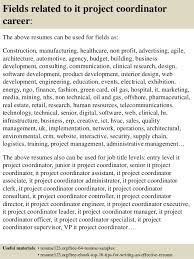 Sample Project Coordinator Resume by Top 8 Construction Project Coordinator Resume Samples In This File