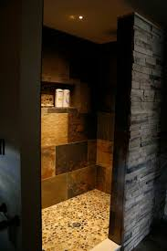 Bathroom Tile Shower Designs by Best 25 Open Showers Ideas On Pinterest Open Style Showers
