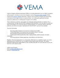 Medical Records Job Duties Vema Scribe Opportunity Gw Pre Health