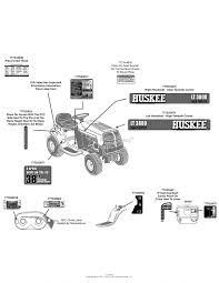 mtd 13ac76lf031 lt3800 2011 parts diagram for label map huskee