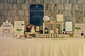 bridal registration wedding registration table wedding gift registration table
