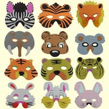 masks for kids new mask birthday party supplies foam animal masks