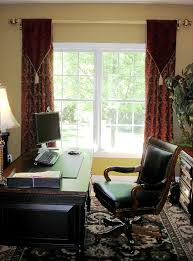home office window treatments a home office with style susan s designs