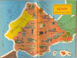 Cordoba Spain Map by Spain American Geographical Society Around The World Program