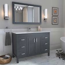 Vanity Fair Bra 75371 Hickory Bathroom Vanity 48 Home Vanity Decoration